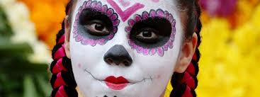 Famous Halloween Characters Names by Celebrity Day Of The Dead Makeup Cultural Appropriation
