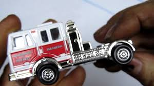 100 Matchbox Fire Trucks Mega Ton Truck Review YouTube