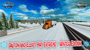 100 Shelby Elliott Trucks DALTON AND ELLIOT EXTREME WINTER EDITION 131X ATS Mods