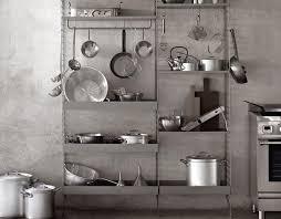 metallene aufbewahrung in der küche