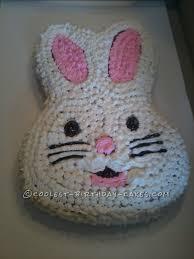 Cool Homemade Easter Bunny Cake