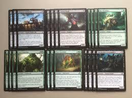 Magic The Gathering Premade Decks Ebay by Mtg Black Green Aristocrats Magic Deck Zulaport Cutthroat Guardian