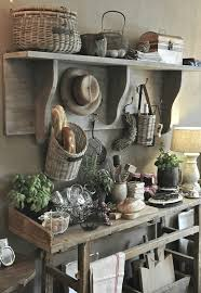 Rustic Country Farmhouse Kitchen Decor Storage Ideas Natural Wood Baguette Basket Barn Renovati Inspired Shop