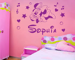 Minnie Mouse Bedroom Accessories Ireland by Minnie Mouse Wall Stickers Roselawnlutheran