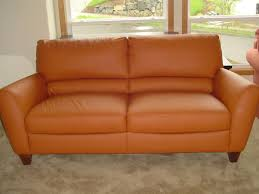Sam Levitz Leather Sofa by Perfect Orange Leather Sofa Set With Contemporary Leather Sofa