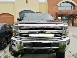 2014 up silverado 1500 2500 3500 grille 30 led light bar