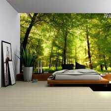 Wall Mural Decals Amazon by Amazon Com Wall26 Crowded Forest Mural Wall Mural Removable