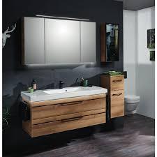 badmöbel set 120cm waschtisch unterschrank spiegelschrank