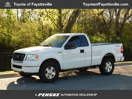 100 Used Ford F 150 Trucks 2005 Reg Cab 126 STX 4WD At Ayetteville