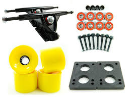 Amazon.com : Big Boy 180mm Trucks + 70mm Wheels + Bearings Combo ...