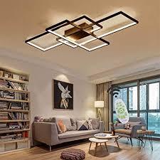 jsz led dimmbare deckenleuchte wohnzimmer le mit fernbedienung moderne minimalistische deckenleuchte kreative metall acryl design deckenleuchte