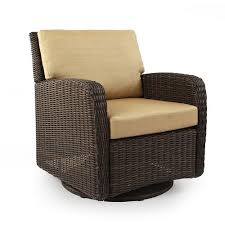 sonoma outdoors carmel wicker swivel chair the great outdoors