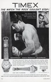 100 Coronet Apartments Milwaukee Heavyweight Champion Rocky Marciano Gives Timex Watch A Workout Ad
