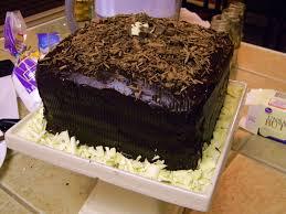 Watching me make this cake