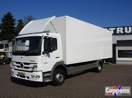 100 Mercedes Box Truck MERCEDESBENZ 1218 Euro 5 Closed Box Trucks For Sale From The