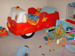 Toddler Bed Truck Boys Toddler Truck Bed By Decorating A