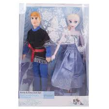 Buy Asaan Buy Pack Of 3Anna And Elsa Doll Set13x9 Inch Box Yayvocom