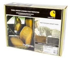 Amazon.com: Covercraft Carhartt SeatSaver Front Row Custom Fit Seat ...