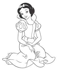 Disney Princess Snow White Coloring Pages