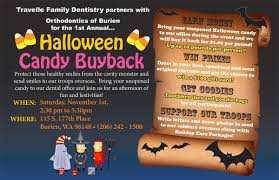 Operation Gratitude Halloween Candy Buy Back by Travelle Family Dentistry U0026 Orthodontics Of Burien Holding Candy