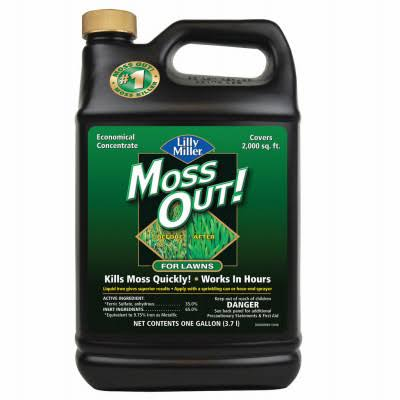 Lilly Miller Moss Out iquid Moss Algae Control Concentrate - 128oz