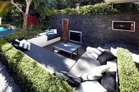 Great Garden Design Ideas Lounge Sets Of Rolling Stone Landscapes