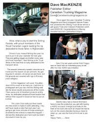 Canadian Trucking Magazine Stirling Truck Show Edition By CTM ... Gordon Jsen Trucking Storage Contact Asphaltpro Magazine Put The Haul Trucks Canopy On Rails Robert Murray General Sales Manager Washington Rwc Group Linkedin Garmon Reassembling The Lowboy With Their 1966 Cadian Trucking Stirling Truck Show Edition By Ctm Raise Bar With Boyd Bros Youtube G H Motor Freight Fleet Management Logistics Iowa Brown Save Costs Your Professional Guide To Co Tractor Trailer In Wreck Ohio Plates Press Photo Bob Murray Logging Llc Glide Oregon Get Quotes For Transport Concrete Pumping Services Brad Inc
