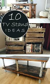 Diy Tv Stands Pallet Corner Stand