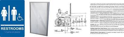 Ada Bathroom Counter Depth by Ada Tilt Frame Mirror Regulations