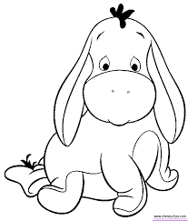 Beautiful Baby Disney Characters Coloring Pages 37 For Online With Sheets