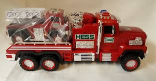 Hess Toy Collectors 2015 Fire Truck And Ladder Rescue | Toy ...