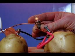 how to power a lightbulb with a potato