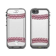Lifeproof iPhone 5S Nuud Case Skin Baseball by Sports