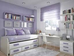 Teenage Girl Bedroom Sets Dark Brown Wooden Platform Bed Lovely