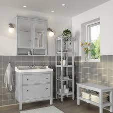 hemnes rättviken bathroom furniture set of 5 grey runskär tap 82 cm