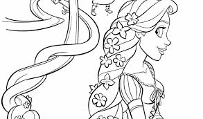 Rapunzel Coloring Pages Online
