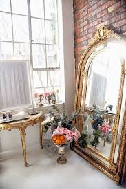 Glamorous Home Essential Leaning Floor Mirror The Decorista