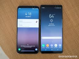 Samsung Galaxy Note 8 And S8