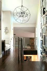 Foyer Lighting For High Ceilings Chandeliers Medium Size Of Hall Farmhouse Chandelier