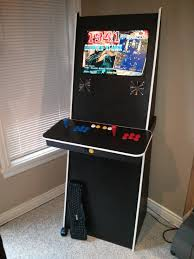 Mame Arcade Bartop Cabinet Plans by Son And I Built A Nice Simple Mame Cab Cade