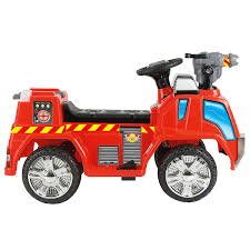Toyrific 6v Battery Powered Electric Fire Engine Ride On Car Truck ... Vintage Style Ride On Fire Truck Nture Baby Fireman Sam M09281 6 V Battery Operated Jupiter Engine Amazon Power Wheels Paw Patrol Kids Toy Car Ideal Gift Unboxing And Review Youtube Best Popular Avigo Ram 3500 Electric 12v Firetruck W Remote Control 2 Speeds Led Lights Red Dodge Amazoncom Kid Motorz 6v Toys Games Toyrific 6v Powered On Little Tikes Cozy Rideon Zulily