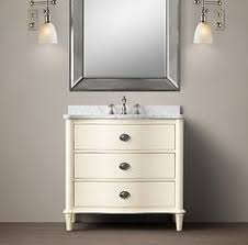 Restoration Hardware Bathroom Vanity Single Sink by Vanities U0026 Sinks Restoration Hardware Weathered Oak Single