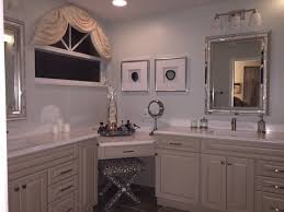 Small Bathroom Corner Vanity Ideas by Bathroom Vanity With Makeup Area Homearama House Tour 5 The Bella