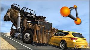 100 Cars Vs Trucks BeamNG Drive 10 YouTube