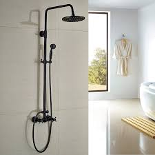 Brushed Bronze Tub Faucet by Rozin Bathroom Shower Faucet Set 8