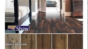 Shaw Versalock Laminate Wood Flooring by Shaw Hardwood Flooring Youtube