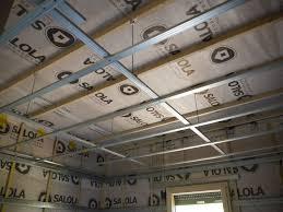 pose rail placo plafond placo notre maison ossature bois
