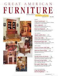 Great American Furniture Popular Woodworking Magazine