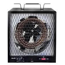 Living Accents Patio Heater by Newair 19 107 Btu 5600 Watt Electric Garage Heater G56 The Home