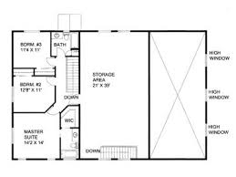 Excellent Ideas Shop With Living Quarters Floor Plans RV Garage Apartment 012G 0052 2nd Plan Camper